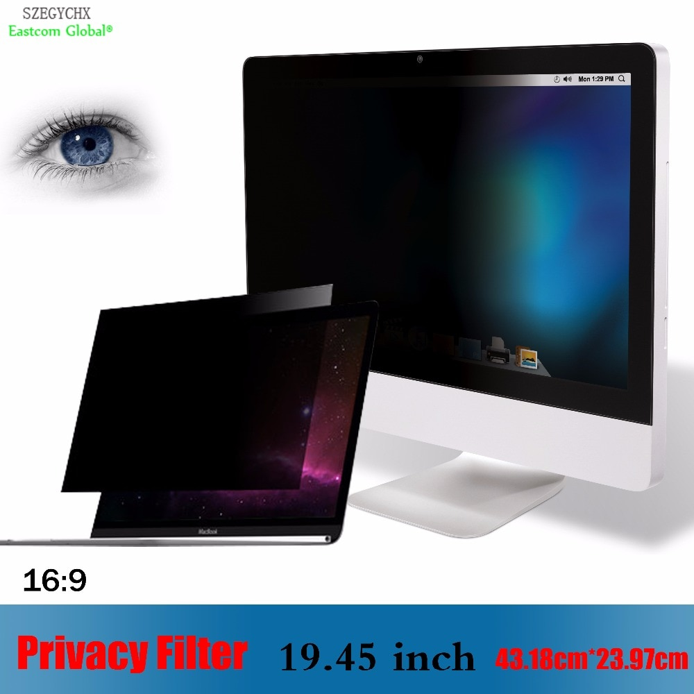 19,45 дюймовый фильтр для защиты от бликов, SZEGYCHX для ноутбука 169, ноутбука 43,18 см * 23,97