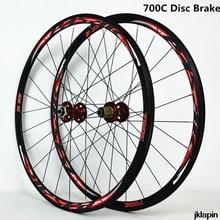 700C frein à disque vélo de route roues roue de vélo de Cross Country V/C frein ultraléger 1700g jante 30mm