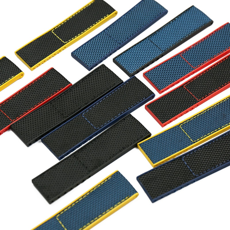 Correa de nailon para hombre, accesorios de reloj para Breitling, correa de navegación de los vengadores, 22mm, Correa deportiva impermeable, correa de reloj para mujer