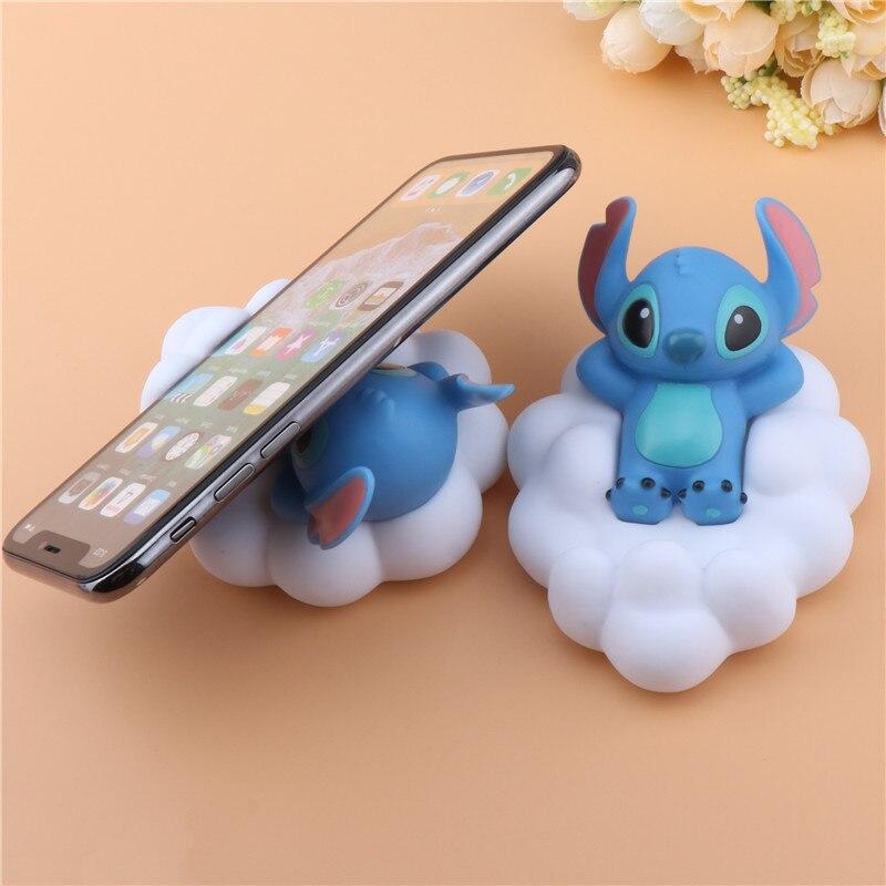 Cloud Shape Cartoon Desk Phone Holder Portable Cute Stitch Doraemon Universal Smartphone Stand  For IPhonexs Xiaomi Samsung