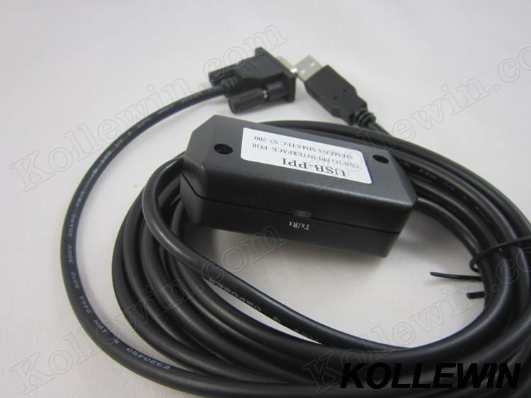 Envío gratuito USB-PPI USBPPI USB PPI cable USB/PPI para S7-200 6ES7 901-3DB30-0XA0 6ES7901-3DB30-0XA0 6ES79013DB300XA0 S7-200 cable