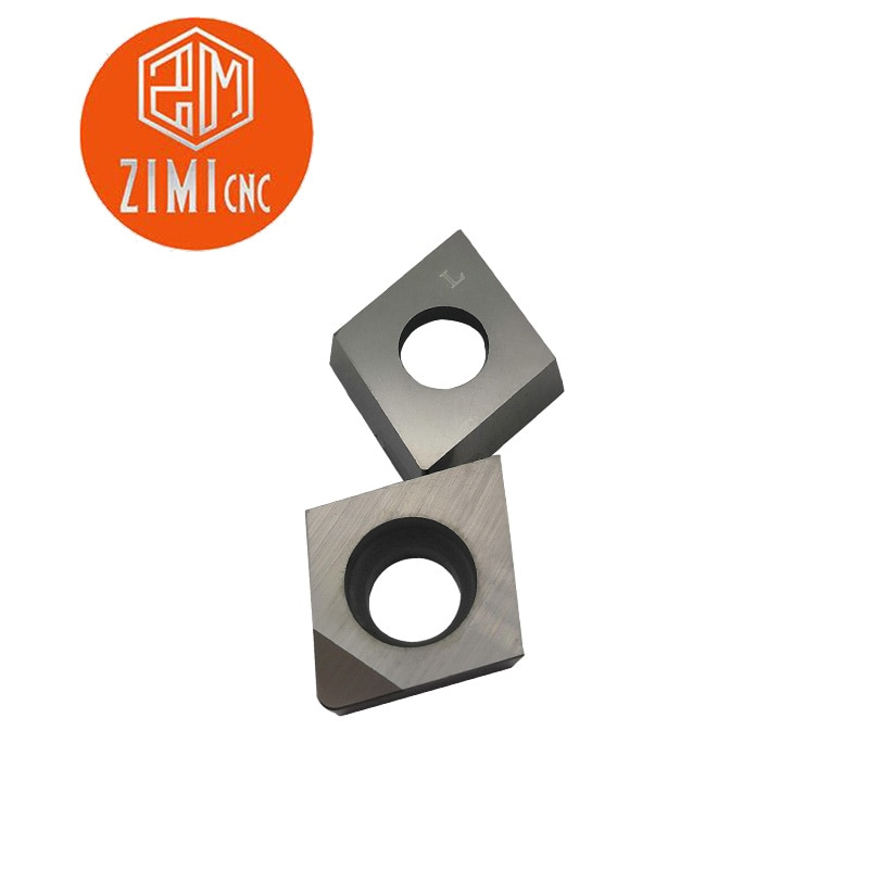 2pcs CCGW09T308 PCD Insert Diamond blade tools Used for Aluminum Polycrystalline diamond tools PCD cnc High cost performance