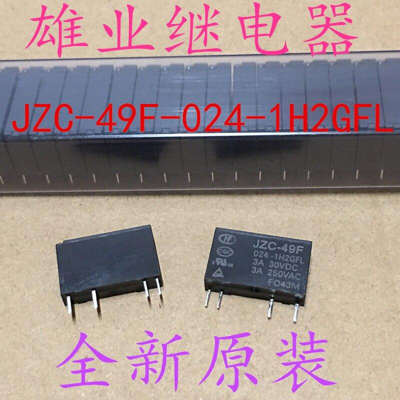JZC-49F-024-1H2GFL  Relay  24V  JZC-49F 024-1H2GFL