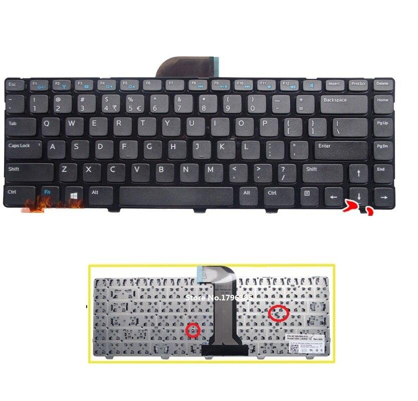 SSEA-لوحة مفاتيح أمريكية أصلية سوداء ، لجهاز Dell Inspiron 14 3421 3437 14R 5421 5437 M431R Latitude 3440 Vostro 2421
