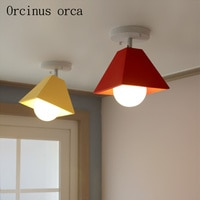 Modern simple LED ceiling lamp creative fashion restaurant lamp lamp corridor lamp
