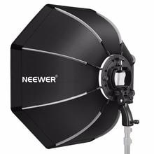 Neewer 26 polegadas octogonal softbox com s-tipo suporte, caso para canon nikon