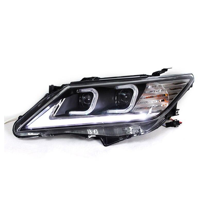 Ownsun LED ojo de águila nrd HID Bi-xenón Len faro para Toyota Camry 2012-2013