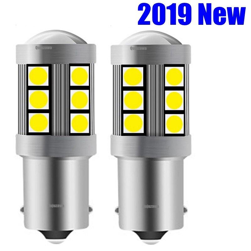 2PCS Mini 1156 P21W BA15S 7506 R10W High Quality 3030 LED Auto Brake Lamps Car Daytime Running Light Reverse Bulbs Turn Signals