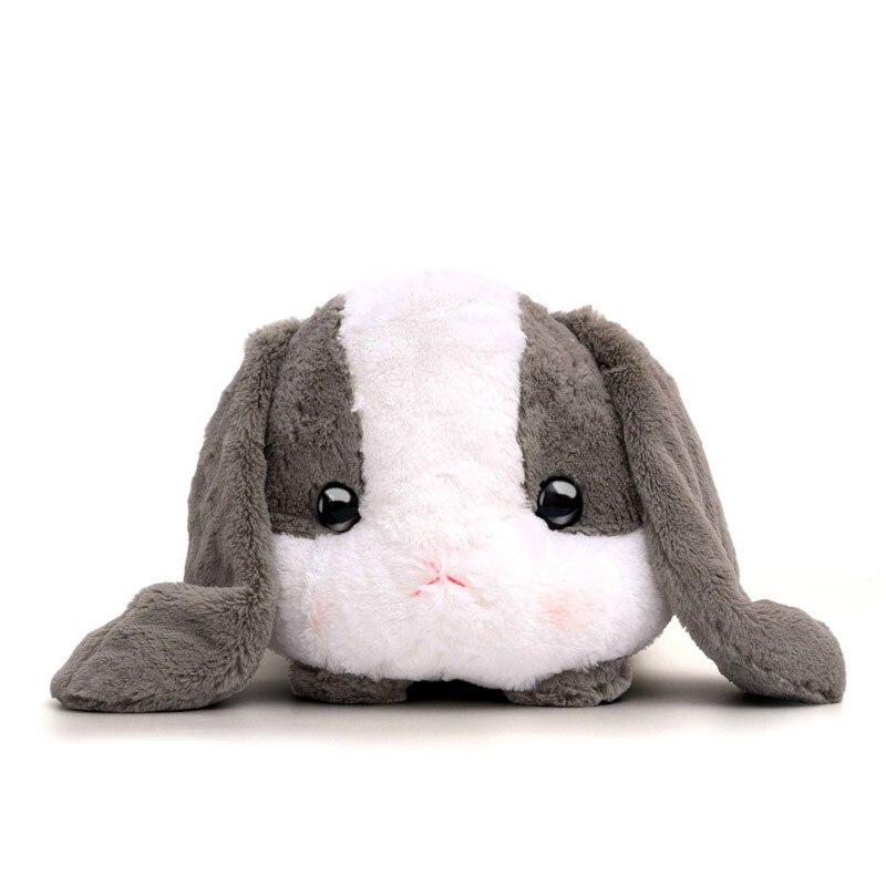 Millffy 1 pc Cute Bunny Soft Lop Rabbit Plush Toy Pink Stuffed Plush Rabbit Doll Graduation Birthday Christmas Girl Kids Gift