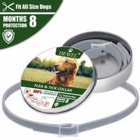 flea and tick dog collar for pet dog anti flea mosquito repellent natural deworming essential oils dog harness dog leash