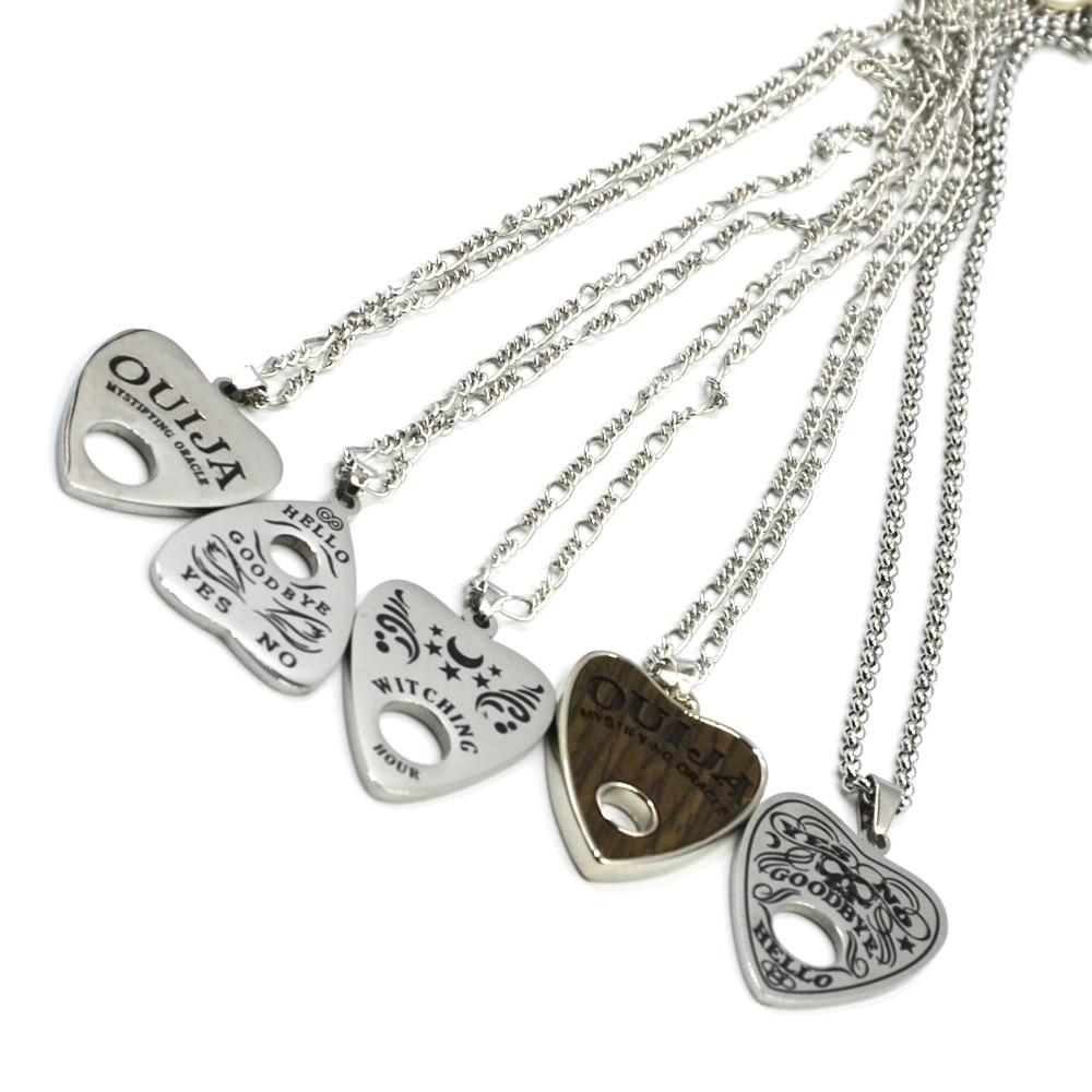 """Ожерелье с подвеской в виде сердца, из нержавеющей стали, 1 шт., 24 """", модное ожерелье-чокер в стиле панк"""