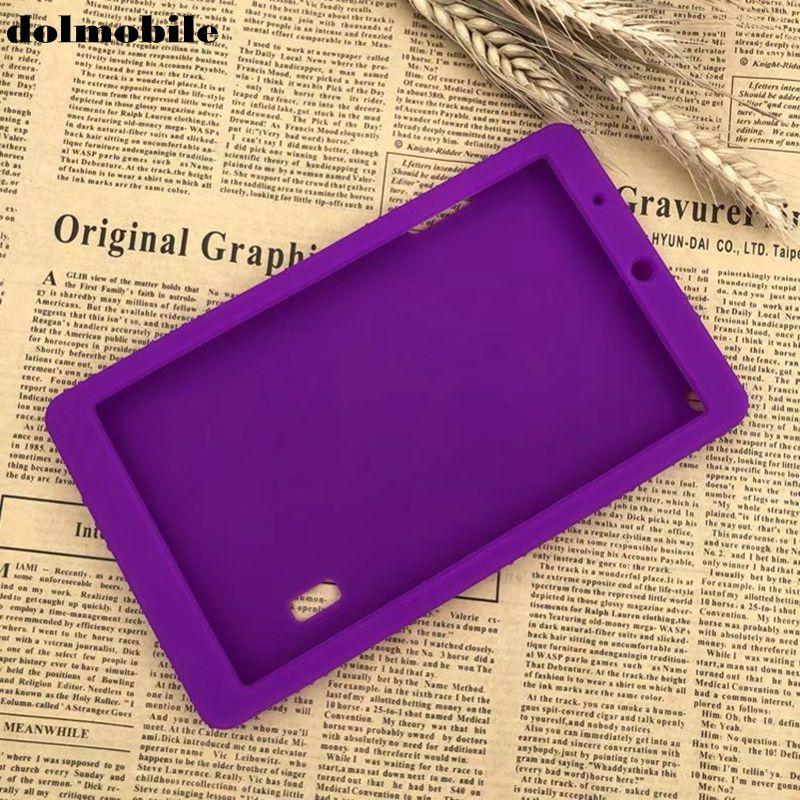 Capa de Silicone para Huawei Tablet + Caneta Dolmobile Macio Volta Case Mediapad 7.0 Bg2-w09 Honor Play Pad 2 7 Stylus t3 Tpu