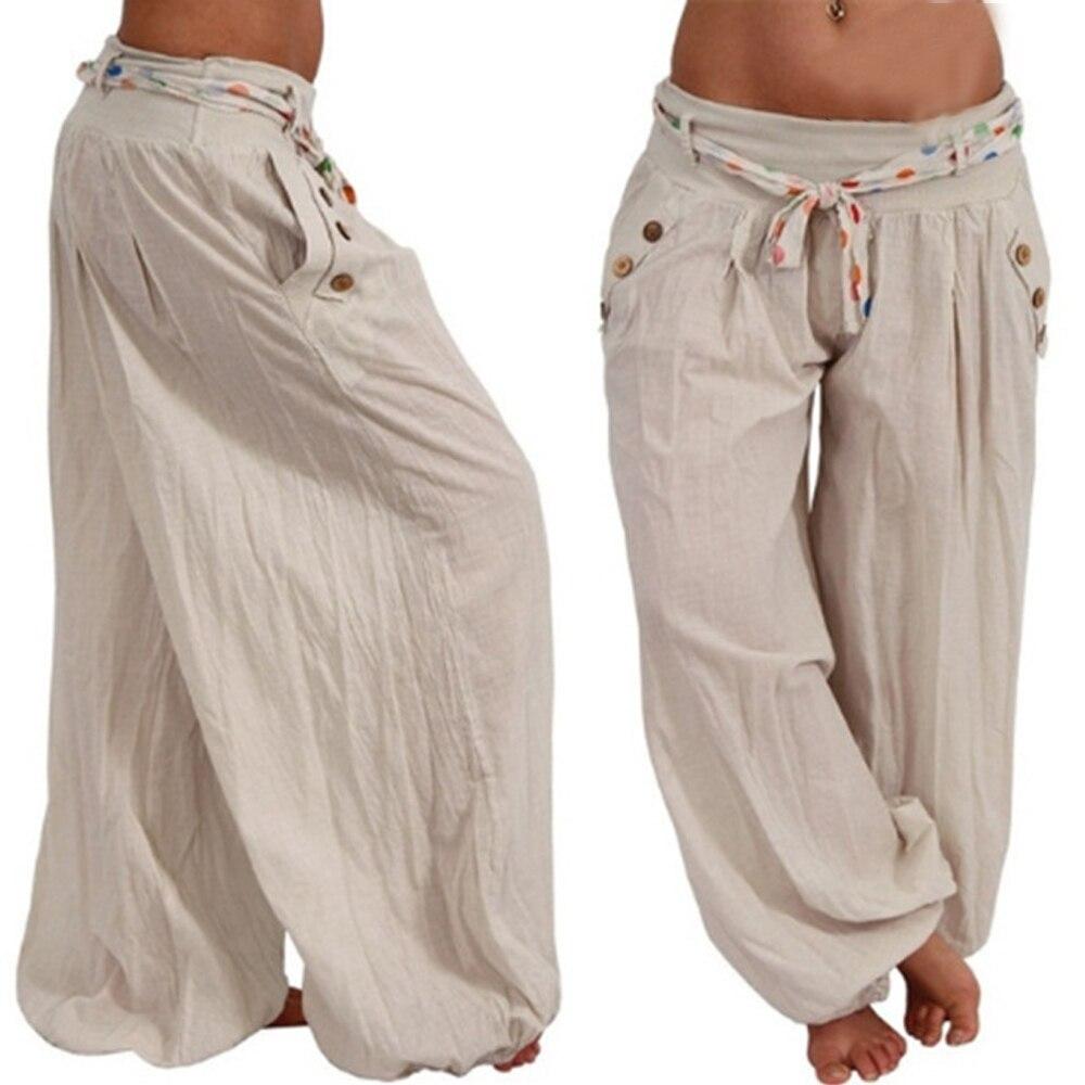 Nistu calça larga feminina, calça de verão novo de 2020, roupa justa para mulheres, tamanhos grandes 5xl