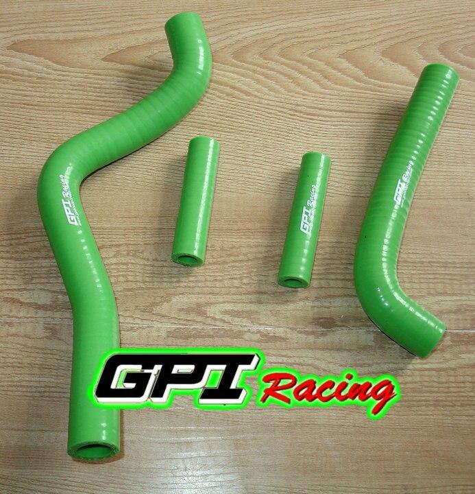 Силиконовый шланг радиатора GPI для KAWASAKI KX125 KX 125 99 02 00 01 1999 2000 2001 2002 зеленый        АлиЭкспресс