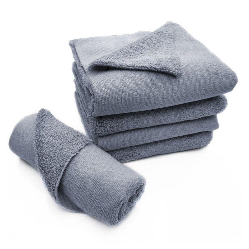 1 шт. 40*40 см 380GSM Edgeless микрофибра ткань без края профессиональное Авто Детализация полотенце для полировки отделки автомойка