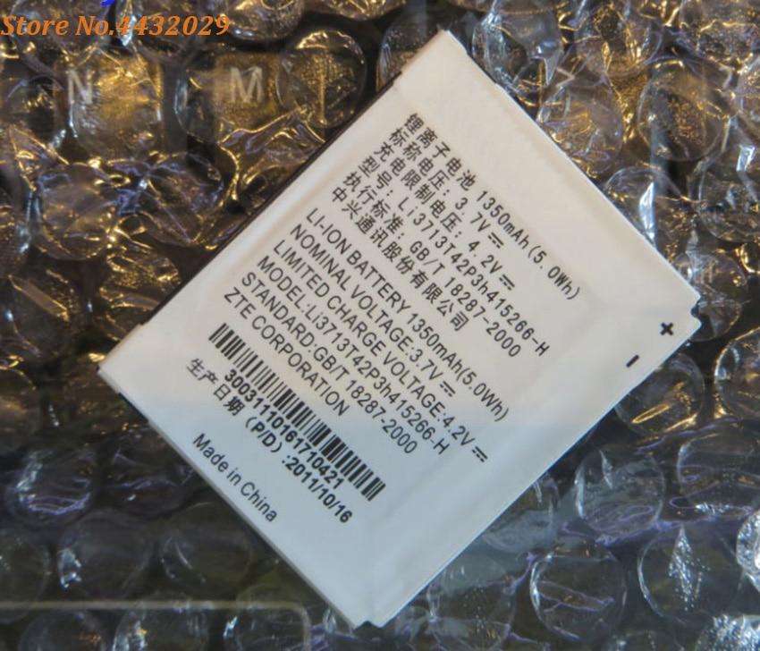 New Original Li3713T42P3h415266-H 1350mAH Rechargeable Phone battery For ZTE N760 V881 N780 Smart Mobile Phone