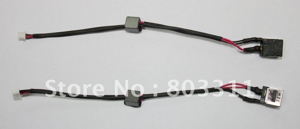 Бесплатная доставка Фирменная Новинка DC разъем, DC Мощность Jack с кабелем для Lenovo IBM S10-2 серии