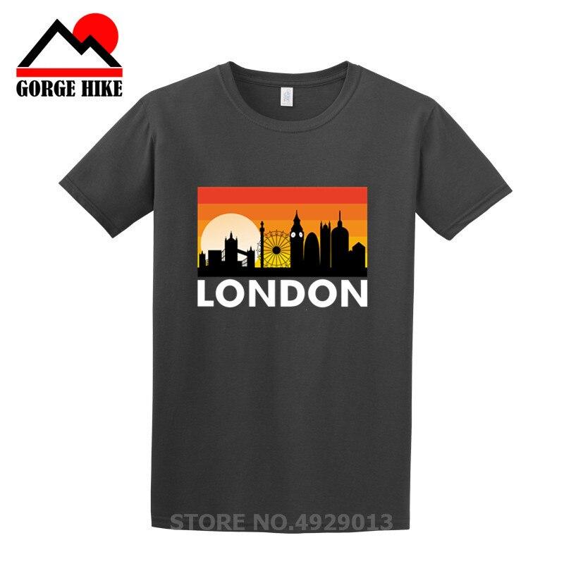 Camiseta I Love London divertida torre Eiffel diseño romántico moda campanas con...