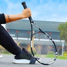 Chaîne de raquette de Tennis professionnelle en Fiber de carbone 58 LBS raquettes dentraînement de raquette sport Tennis raquettes tennisraquette sac hommes femmes