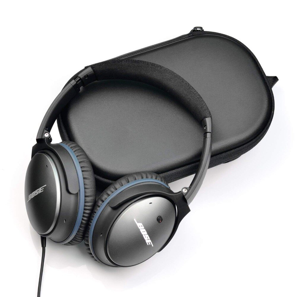 Funda rígida impermeable Estuche de transporte bolsa de viaje protectora para Bose QuietComfort 35 QC35 QC25 QC15 auriculares Soundtrue