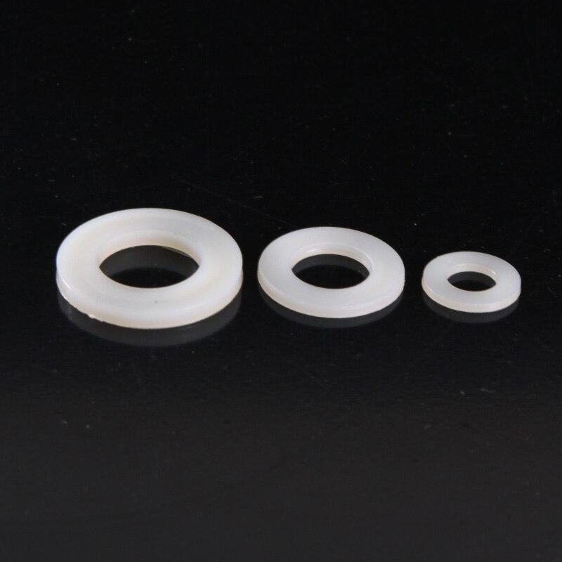 40 Uds. Arandelas de nailon para aumentar la almohadilla aislante de plástico/arandela plástica M5 * 10*1