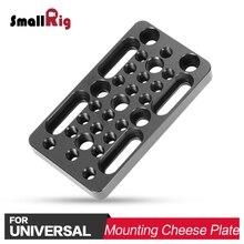 SmallRig DSLR Montage Käse Platte Kamera Stabilisator Mit 1/4 3/8 Gewinde Für DIY Optionen 1598