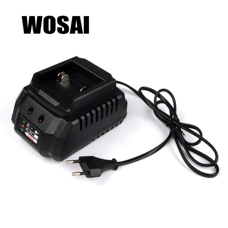 WOSAI 20V Мощность инструменты литиевая Батарея пакет Зарядное устройство адаптер Применимо машина модель WS-B6 WS-L6 WS-H3 WS-H5 WS-J3 WS-F6