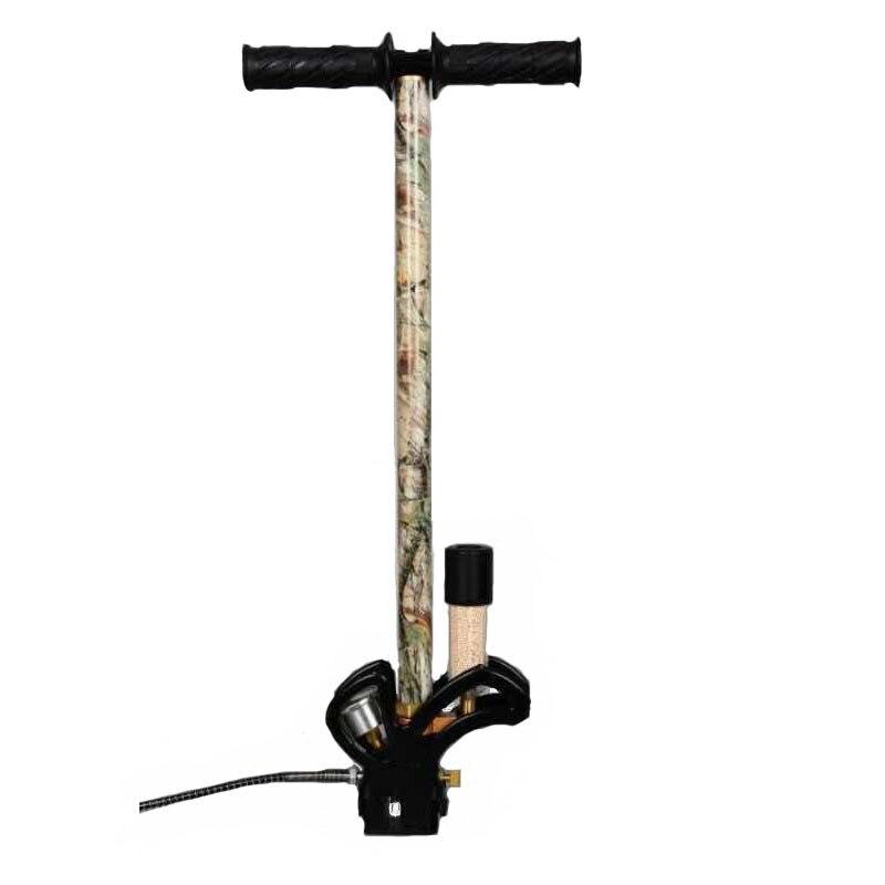 Компрессор высокого давления ингаляционное Надувное 300bar 30mpa 4500psi 3 этап PCP ручной насос Воздушный пистолет автомобиль мотоцикл велосипед