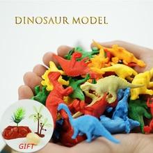 10 stücke Mini Tiere Dinosaurier Simulation Spielzeug Jurassic Spielen Dinosaurier Modell Action-figuren Klassische Alte Sammlung Für Jungen