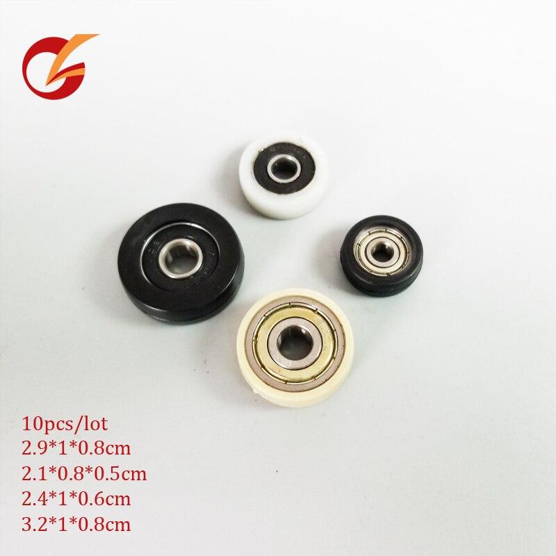 Rodamiento pom plástico 10 Uds. Rodamiento no estándar calidad hing 29*10*8 21*8*5 24*10*6 32*10*8mm