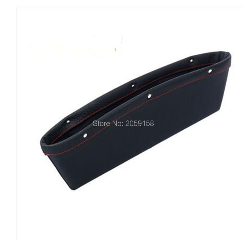 Bolsillo de hueco de asiento de coche organizador de asiento caja de almacenamiento para chevrolet cruze renault bmw e39 passat b5 peugeot 307 kia rio opel