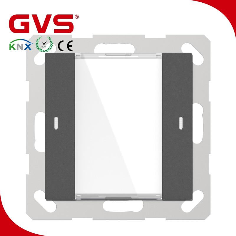 Latest KNX/EIB GVS K-Bus KNX Push Button 55mm 1 Gang Matt Finish in KNX smart Home automation System