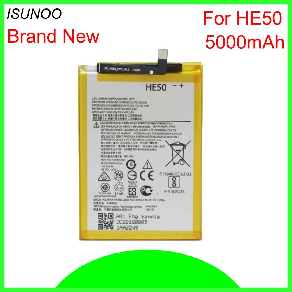 Batería ISUNOO 4850mAh HE50 para Motorola Moto E4plus batería