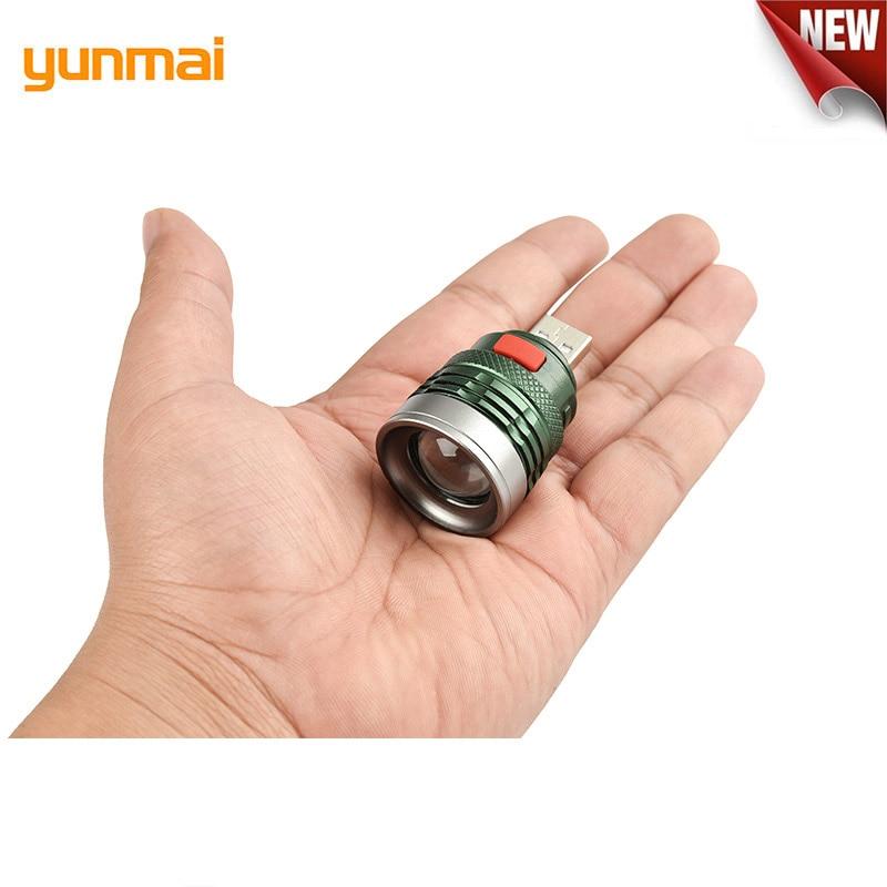 Новый мини вспышка USB портативный фонарь с зарядкой компьютерный свет 3-Mode лампа для чтения USB интерфейс Q5 фонарик от Power Bank
