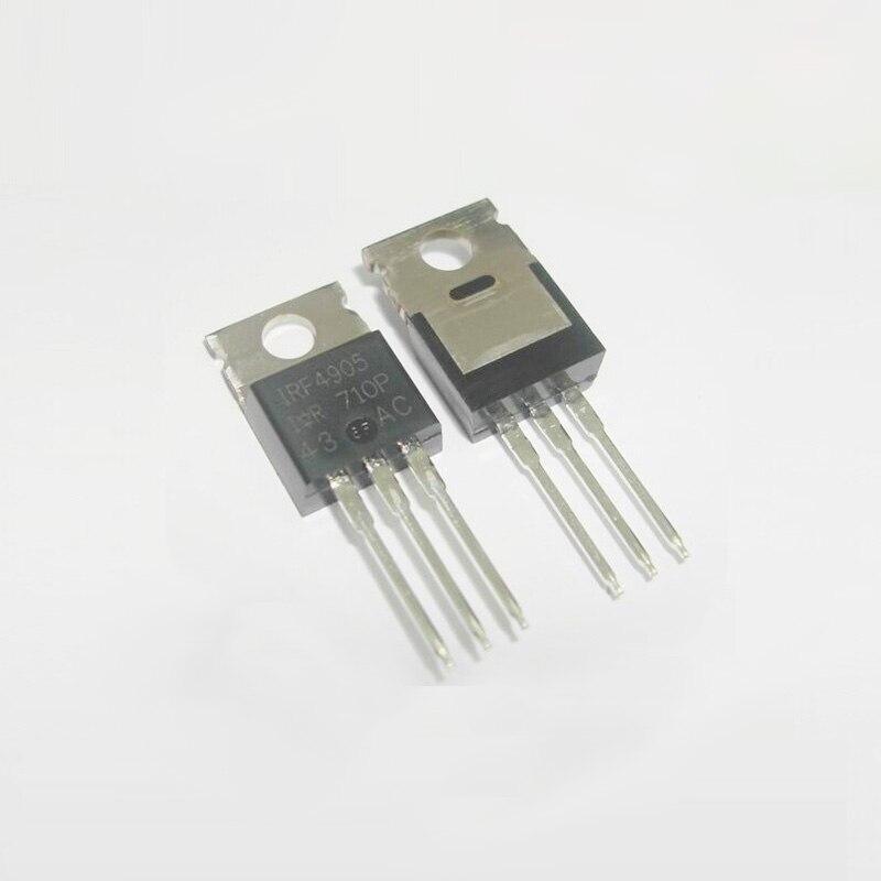 5 pçs/lote IRF4905PBF FET-Single/Field-Effect Transistor 74A/55 v/200 w PARA- 220