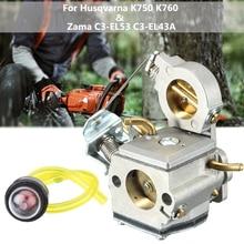 Хром карбюратор праймер лампа 578 24 34-01 для Husqvarna Partner K750 K760 отрезная пила Zama C3-EL53 C3-EL43A