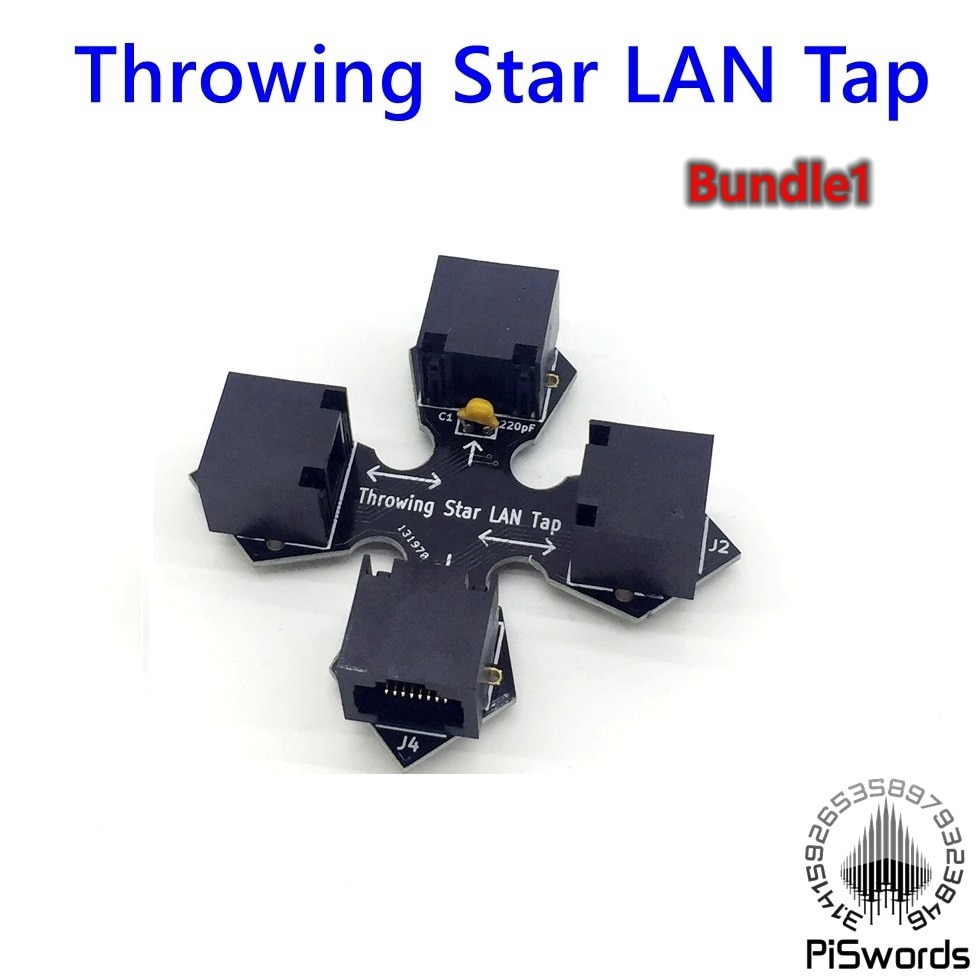 Passieve Ethernet tap gooien Ster LAN Tap Netwerk Packet Capture Mod Replica Monitoring Ethernet Communicatie
