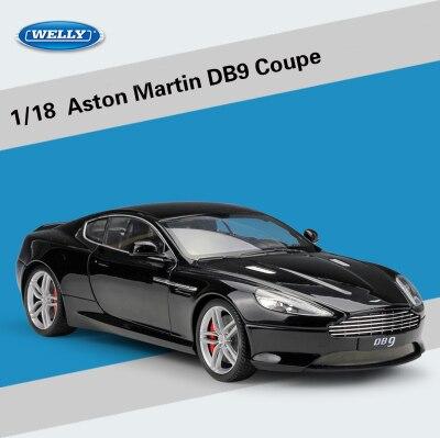 Welly 1:18 весы для Aston Martin DB9 Coupe литье под давлением модели спортивные гоночные Автомобильные Игрушки транспортные средства детские игрушки подарки с оригинальной коробкой