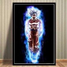 FX060 Dragon Ball Super-Ultra Istinto Goku Giappone Anime Comic Poster Art di Seta Calda Luce della Tela di Canapa Moderna Casa Della Parete Della Stanza decorazione di stampa