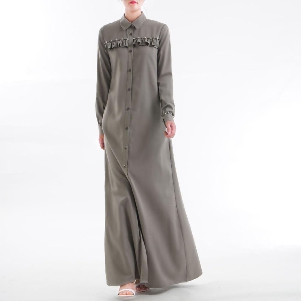 Dubai fashion Arabic women jubah Muslim women blouse shift dress