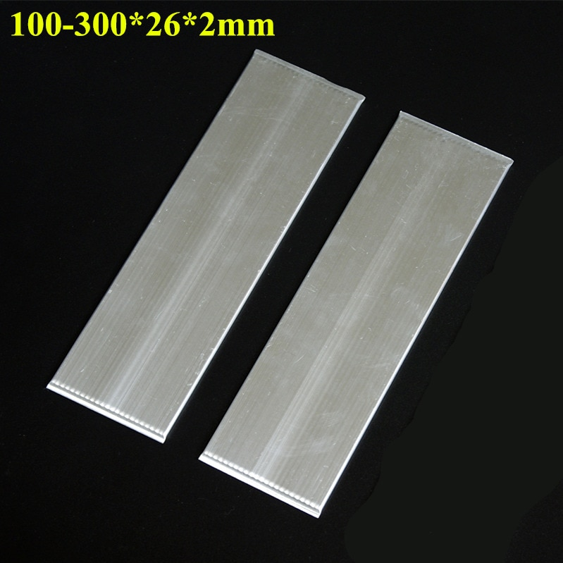100-300*26*2mm cámara de Vapor de aluminio para potencia LED ordenador portátil CPU tarjeta de vídeo radiador placa térmica plana tubo de calor