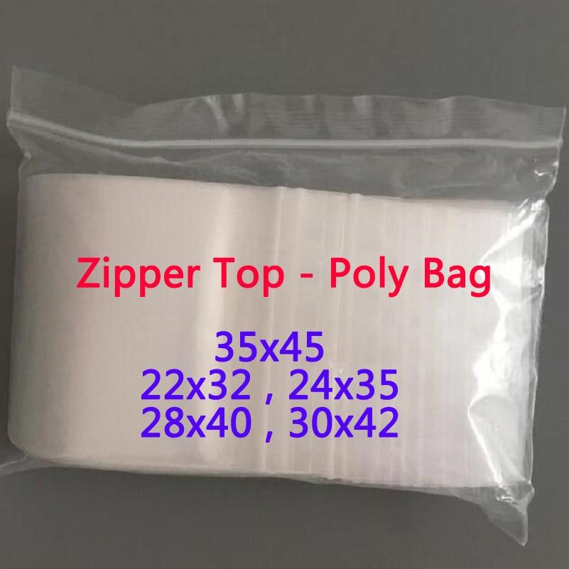 Большие прозрачные пластиковые пакеты с замком-молнией, закрывающиеся на молнии, прозрачные пакеты для одежды, закрывающиеся полиэтиленов...