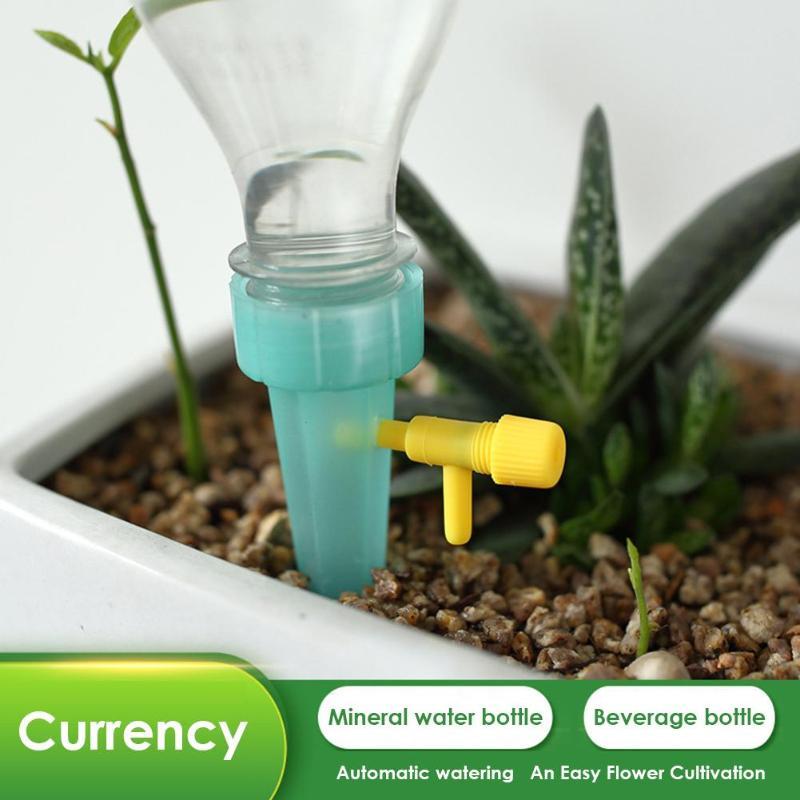 Sistema de riego automático de picos de riego para planta de interior de botellas de flores sistema de riego por goteo automático
