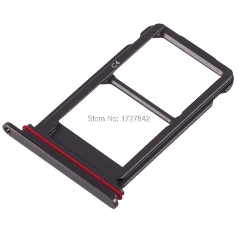 Dual SIM Karte Tray Slot-Halter Adapter Für Huawei Mate 10 Pro SIM Halter Slot Tray Container Teile Rose Gold /silber/Schwarz