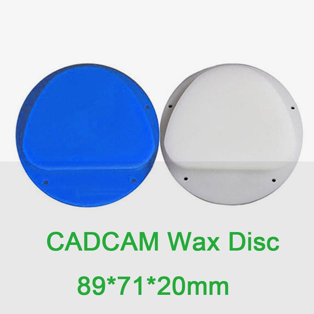 Disco de cera Dental de 20mm de espesor Compatible con la máquina Amann Girrbach materiales de laboratorio 3 uds