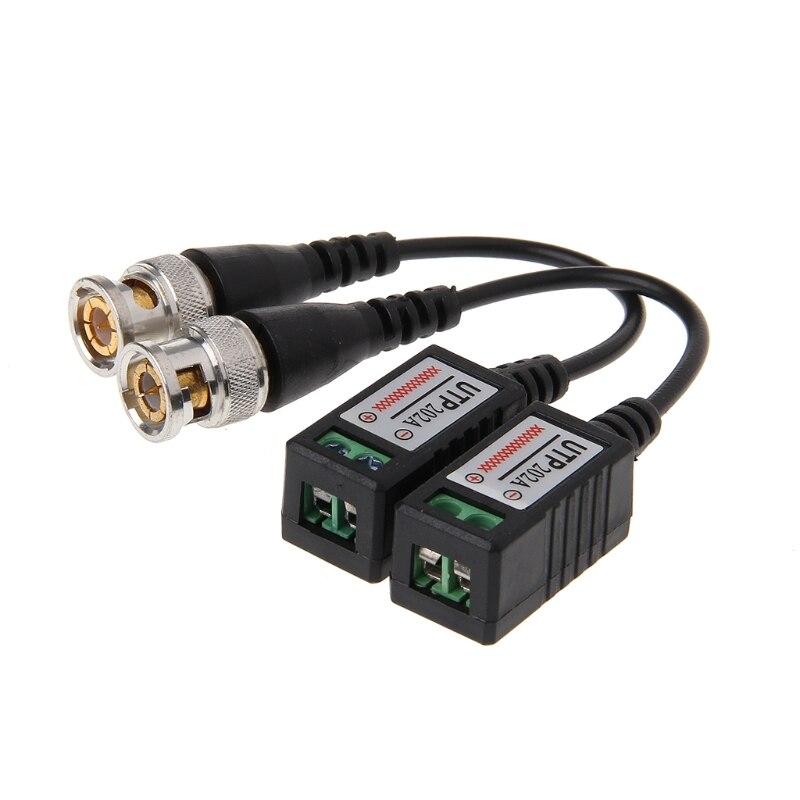 1 пара 1CH пассивный UTP Видео балун витой трансивер BNC для Cat5 CCTV камеры F42D оптовая продажа дропшиппинг