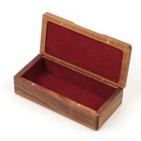 walnut wood storage box square custom pendant ring box Multi-functional jewelry small box processing 150*70*44mm