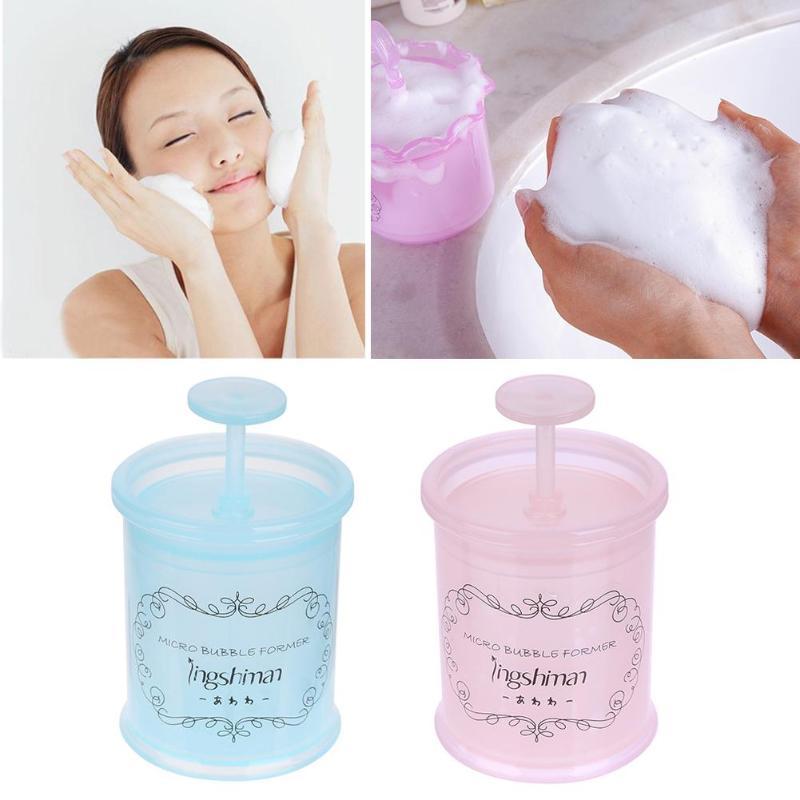 Taza de Espuma Facial de limpieza profunda Bubbler para lavado de cara Manual Bubbler antiguo dispositivo de espuma de limpieza Facial taza de botella batida herramienta