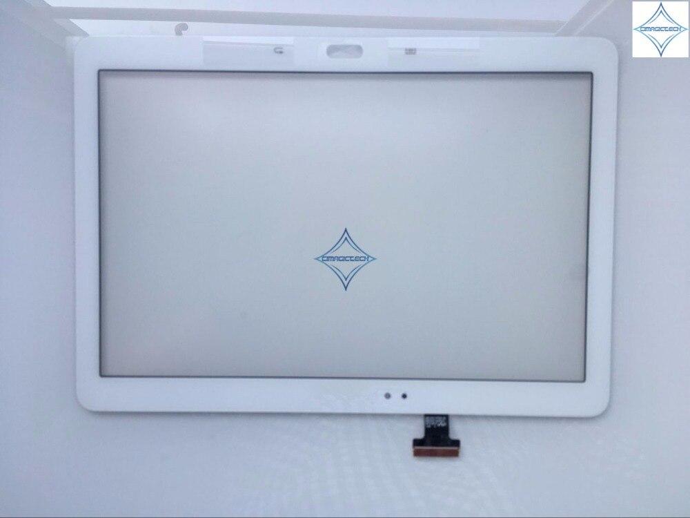 Nuevo panel de cristal capacitivo de 10,1 pulgadas para Samsung Galaxy Note SM-P600 SM-P601 P605 P600 Digitalizador de pantalla táctil