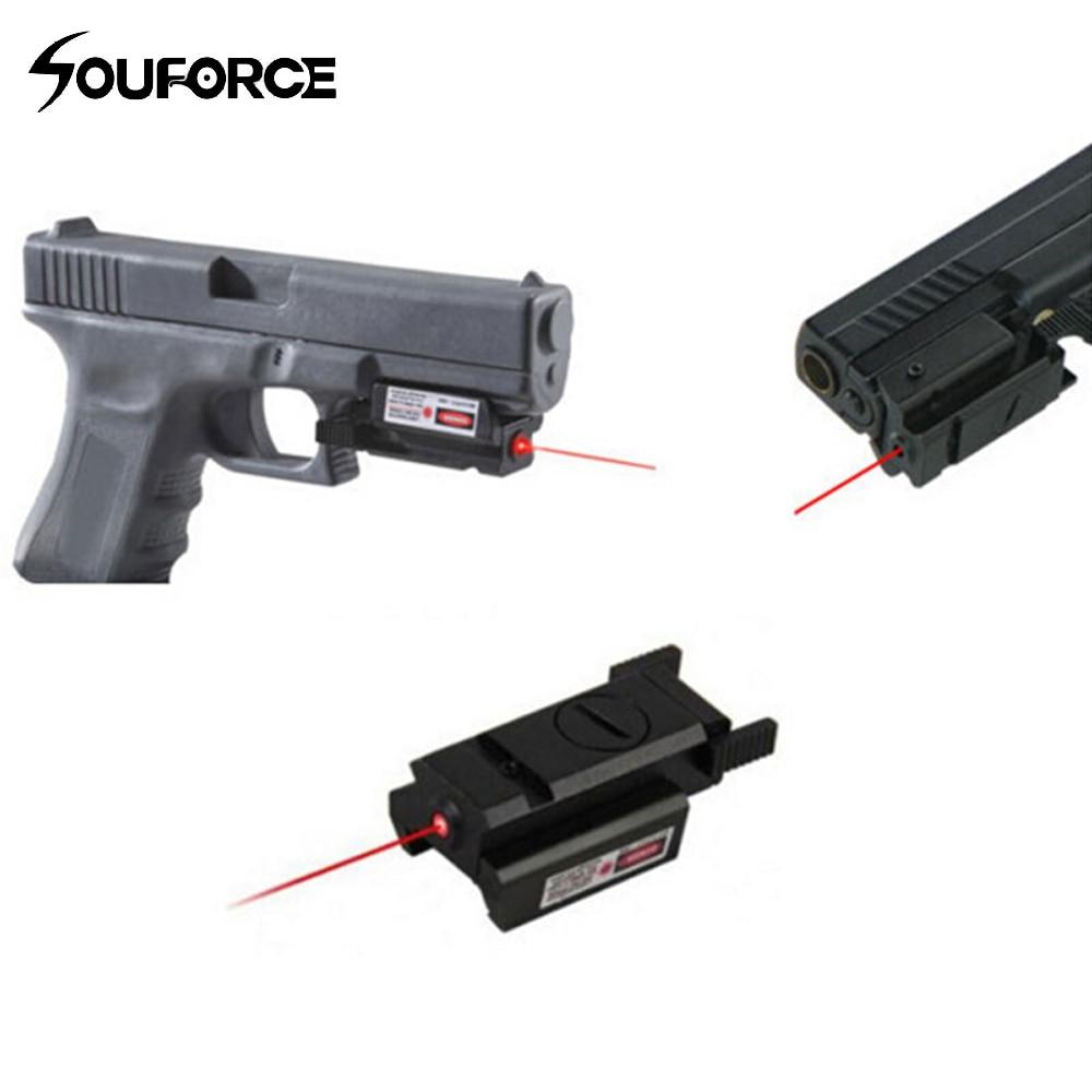 Visor Láser de punto rojo táctico de alta calidad con montura + 2 llaves para G17 19 23 22 9mm 22LR